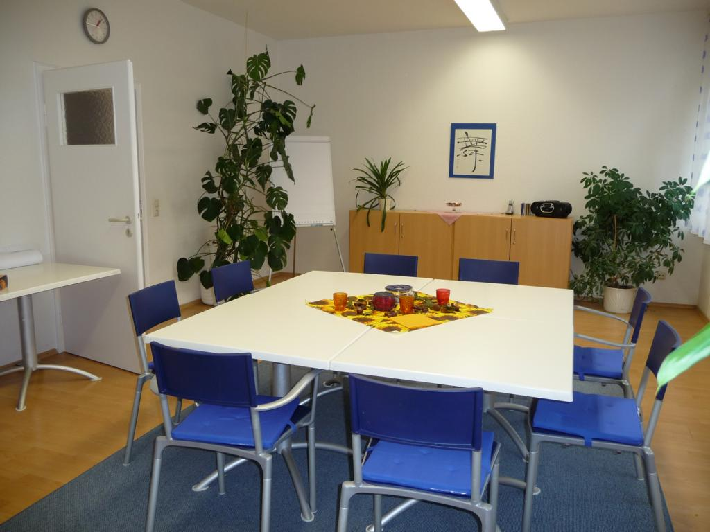 Gruppenraum für gemeinsame Gespräche