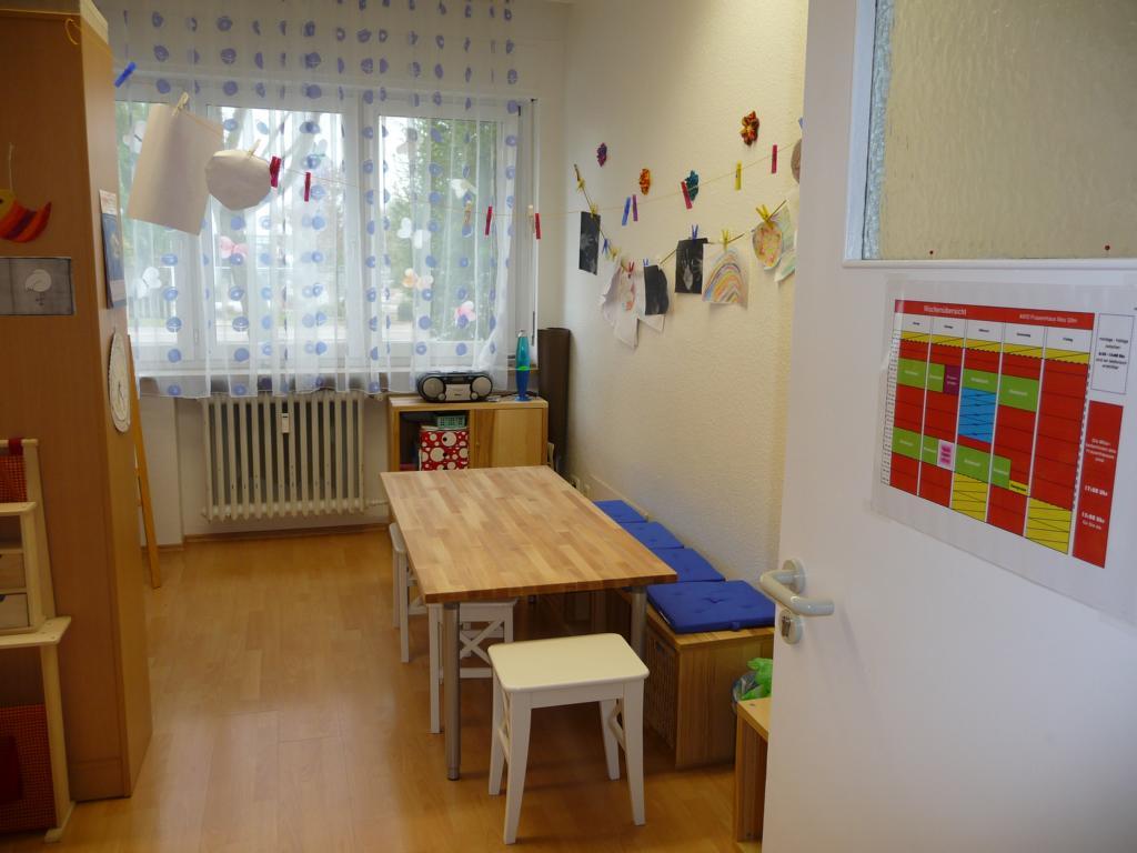 Spielzimmer, Malecke