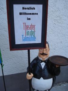 4. Bild Theaterschild, Ausflug Blb,