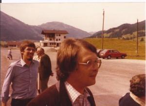 Volker Blätz Siegbert Kollmann AWO Mitgliederausflug in die Berge