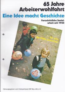 aus Arbeiterwohlfahrt was ist das eigentlich Wir im Landkreis Neu-Ulm stellen uns vor 1985